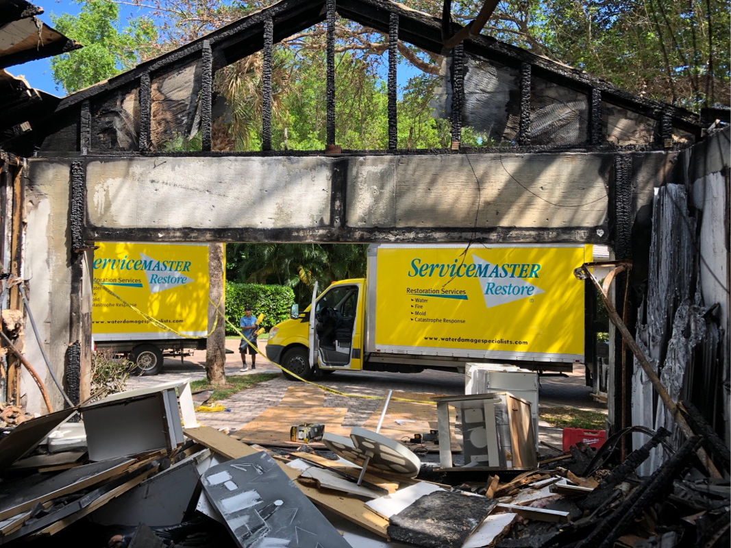 case study fire damage vero beach